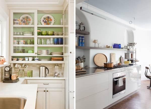 Декор кухни - оригинальные идеи с посудой (фото)