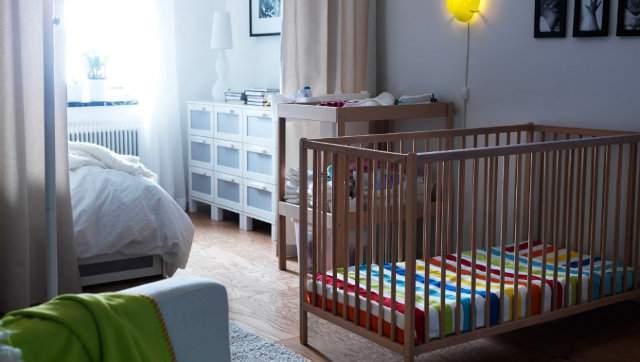 Детская в однокомнатной квартире - идеи зонирования