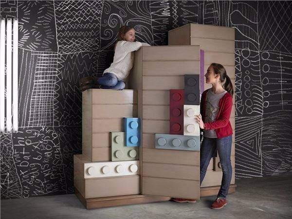 Мебель для однокомнатной квартиры с ребёнком фото