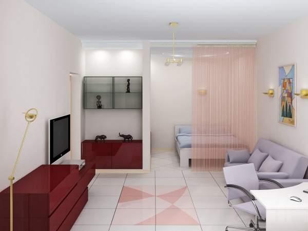 Как обставить однокомнатную квартиру с ребенком функционально 69