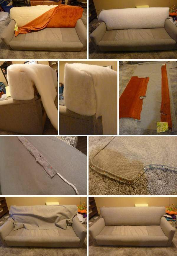 Реставрация мягкой мебели - идеи для перетяжки дивана