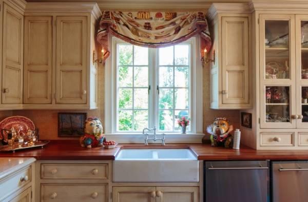 Декор кухни своими руками - фото идеи штор
