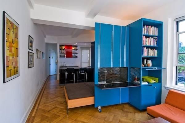 Дизайн однокомнатной квартиры 2017 современные идеи