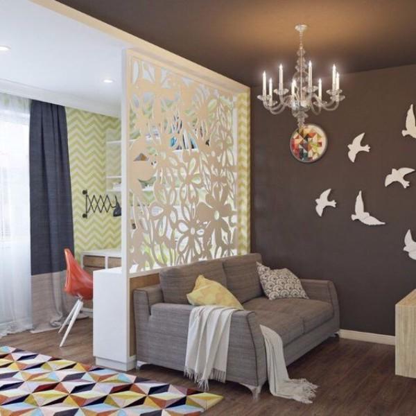 Стильный дизайн однокомантной квартиры - фото 5
