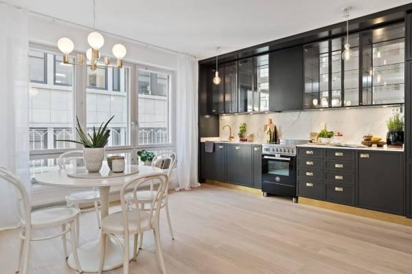 Как украсить кухню своими руками с фото - зеленые растения как декор