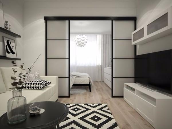 Зонирование однокомнтаной квартиры - фото 5