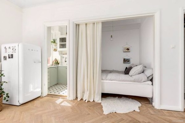 Зонирование однокомнтаной квартиры - фото 6