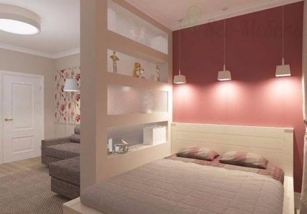 Зонирование однокомнатной квартиры для семьи - фото 7