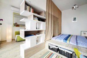 Как расставить мебель в однокомнатной квартире фото