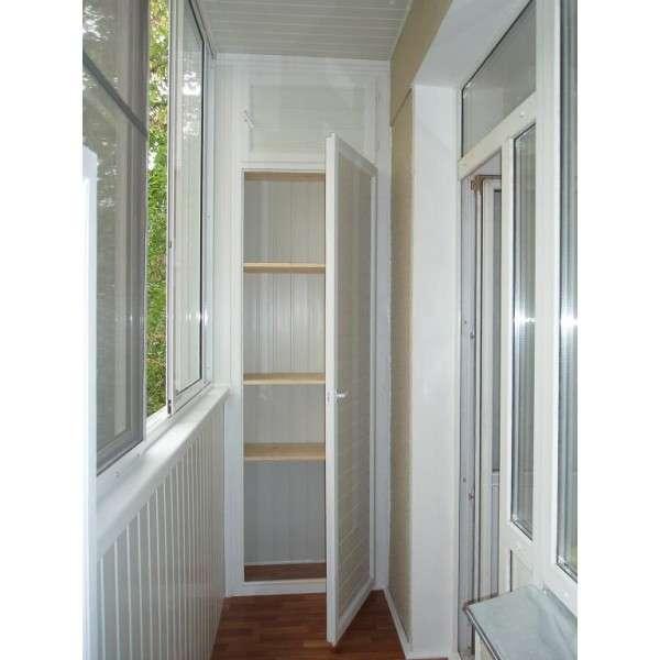 Как оформить угол узкого балкона