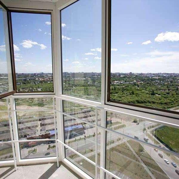 Панорамный балкон - фото с красивым видом