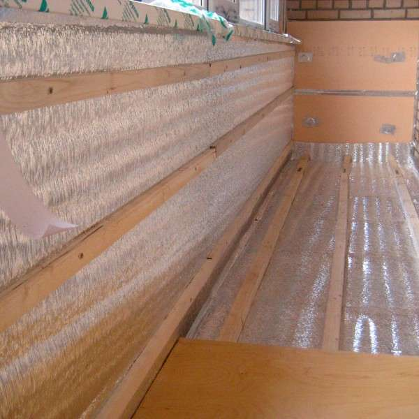 Утепление и отделка балкона - интересные идеи с фото