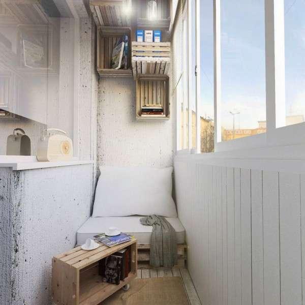 Дизайн интерьера балкона своими руками
