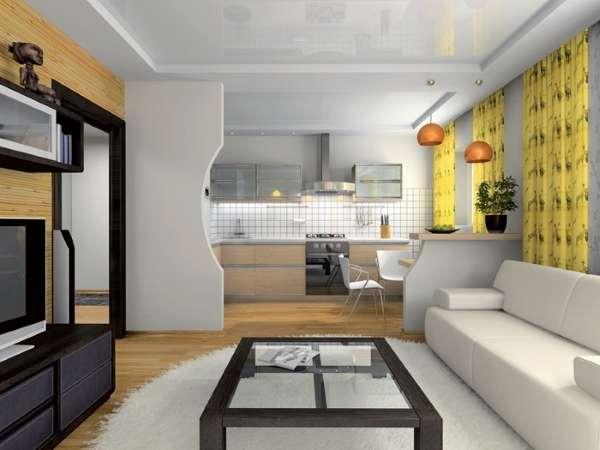 Оформляем интерьер кухни гостиной частного дома своими руками фото