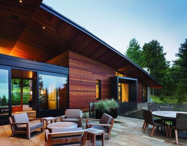 Частный дом - современный дизайн фасада и интерьера