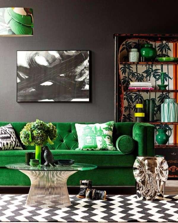 Модные цвета в дизайне частного дома 2017