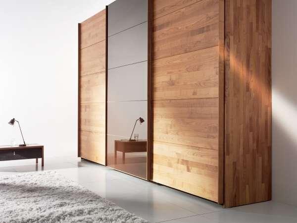 Шкаф купе в спальню - фото дизайн идеи 2017 в современном стиле