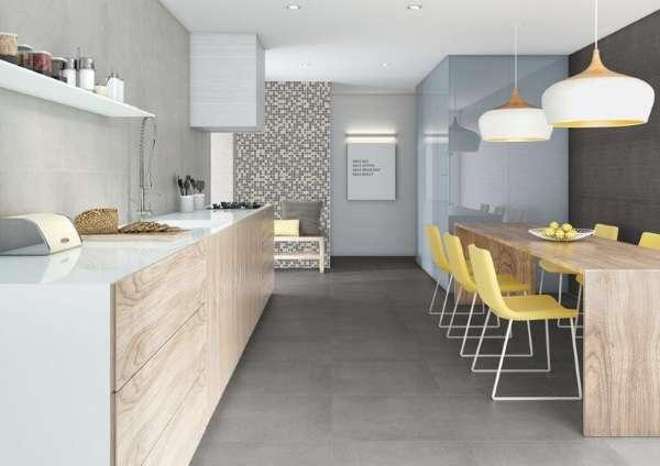 Современная кухня в частном доме - смелый дизайн фото