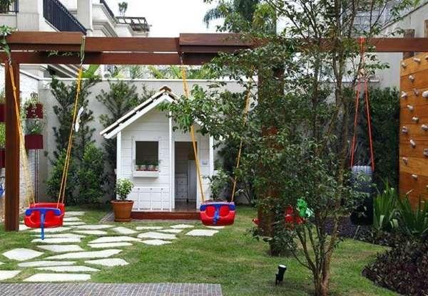 Современные идеи для благоустройства дворов частных домов