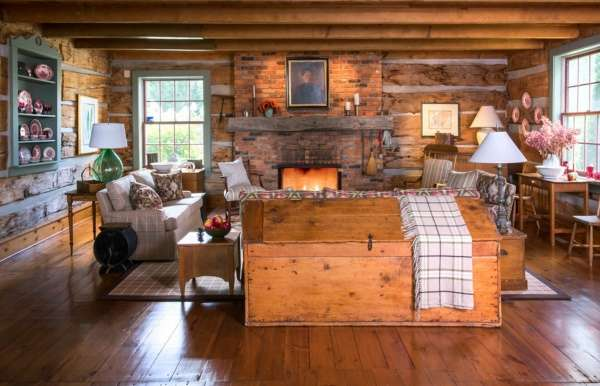 Фото дизайна комнат загородного дома
