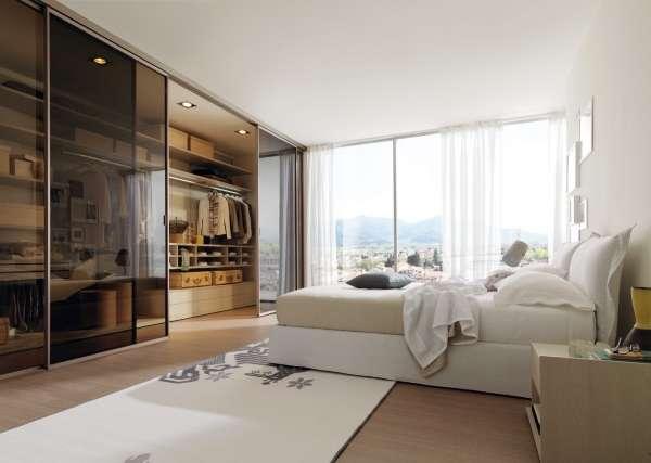 Шкаф купе в спальню - фото дизайн альтернативные идеи