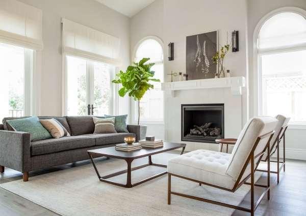 Дизайн интерьера дома - фото гостиной в стиле эко