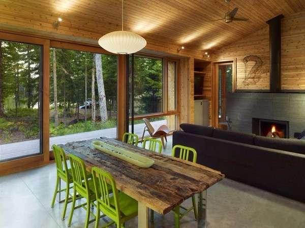 Дизайн интерьера частного дома за городом