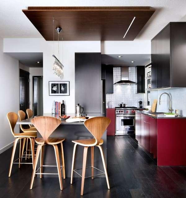 Интерьер маленькой кухни в частном доме - идея для оформления своими руками