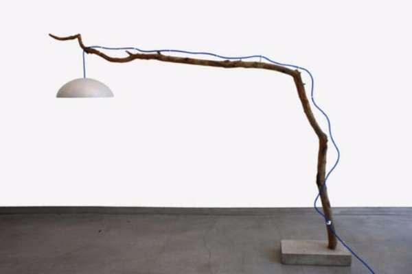Напольная лампа своими руками - фото торшера