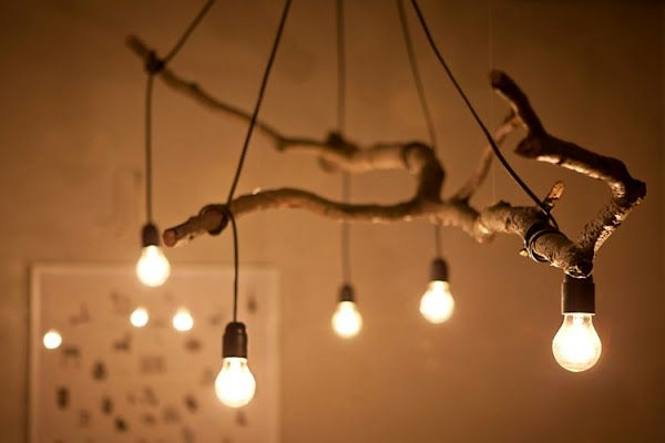 Как сделать потолочный светильник из дерева своими руками