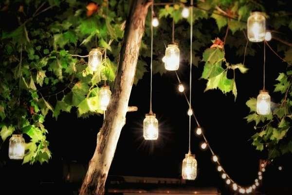 Светильники для ландшафтного дизайна частного дома своими руками - фото