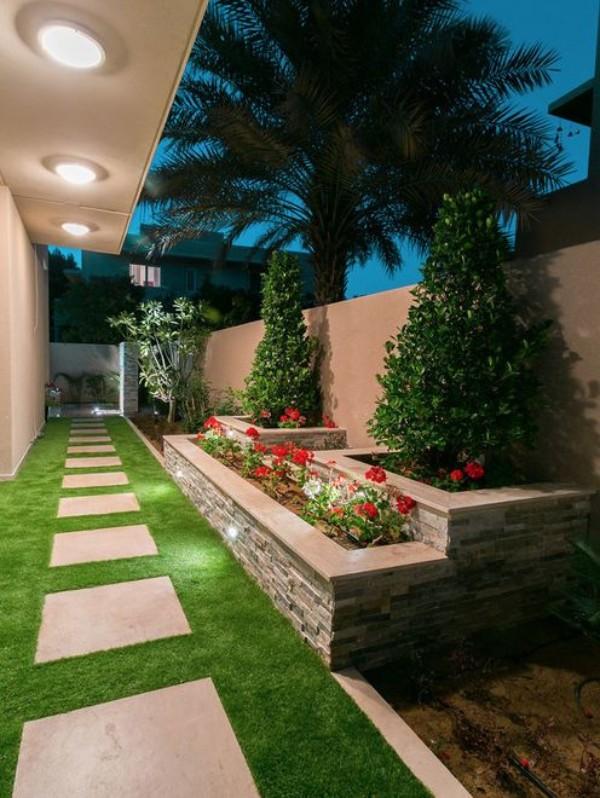 На фото 8: Ландшафтный дизайн двора
