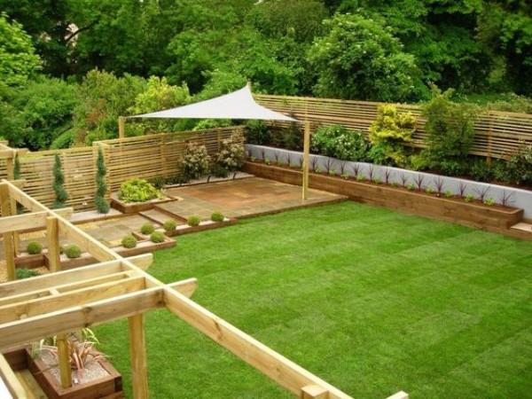 На фото 9: Ландшафтный дизайн двора