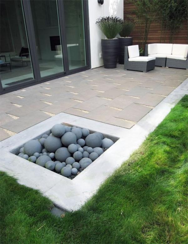На фото 11: Ландшафтный дизайн двора