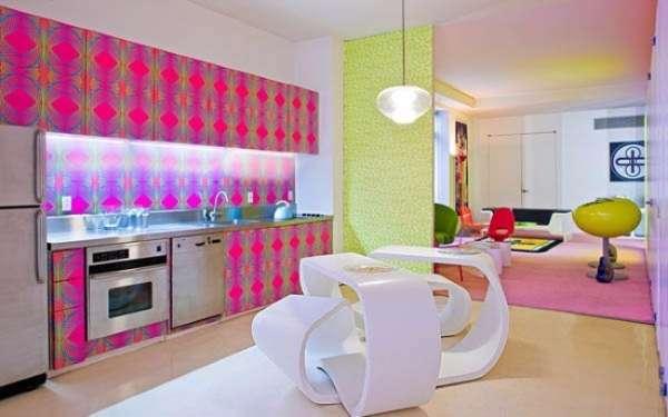 Маленькие квартиры студии - дизайн фото в стиле хай-тек