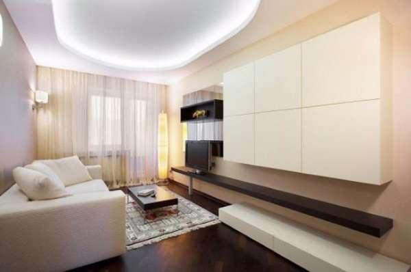 Маленькая квартира студия - дизайн интерьера фото гостиной