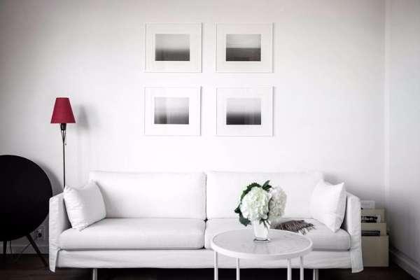 Дизайн маленькой квартиры студии в современном стиле минимализм