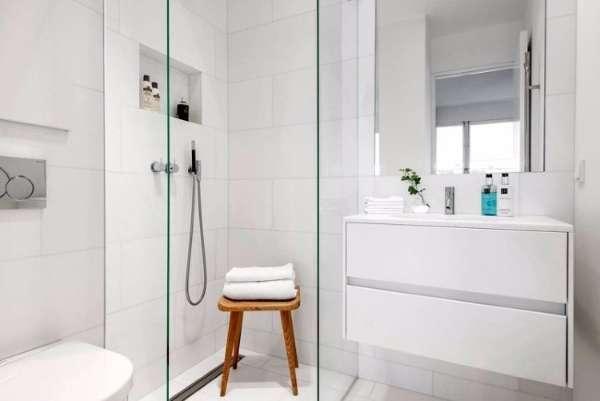 Маленькие квартиры студии - дизайн фото ванной комнаты