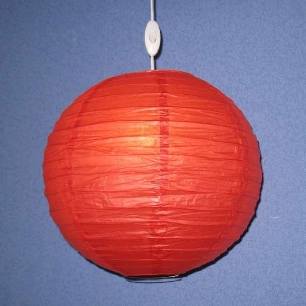 Китайский светильник из бумаги - как сделать своими руками