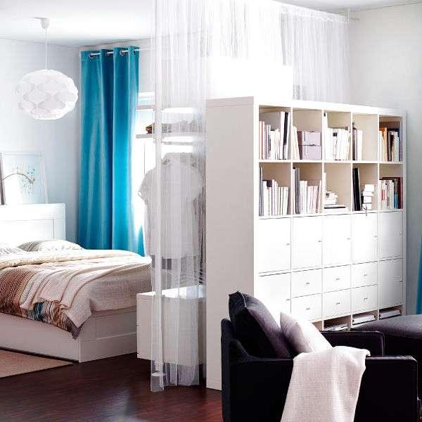 Как отделить спальню в планировке однокомнатной квартиры