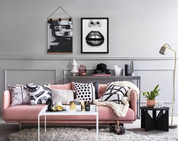 Дизайн интерьера 2017 - фото новинки в украшении стен