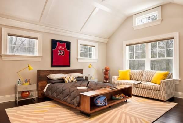 Лучшие цвета для детской комнаты - бежевый, коричневый и белый