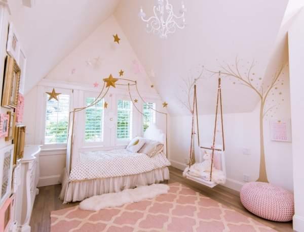 Идеальные цвета для детской комнаты для девочки