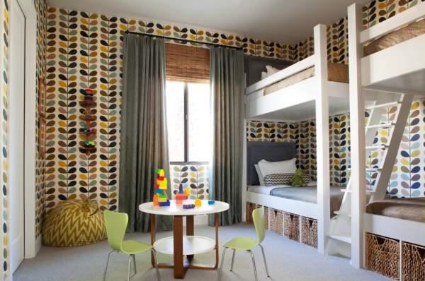 Лучшие цвета для детской комнаты для разнополых детей