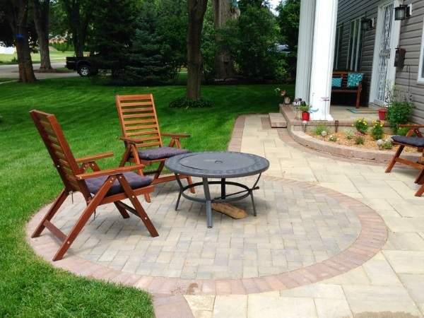 Планировка двора частного дома - фото с примерами дизайна