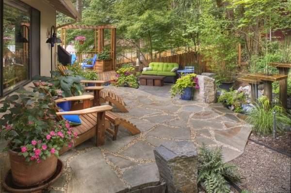 Как обустроить небольшой двор в частном доме своими руками фото 13