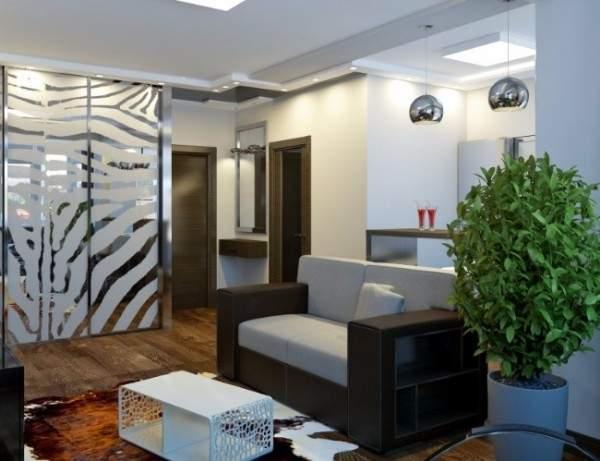 Дизайн квартиры студии 25 кв м в современном стиле - фото
