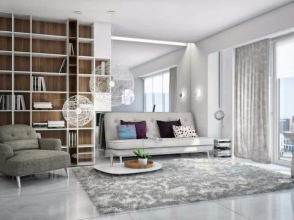 Дизайн квартиры студии 30 кв м в современном стиле