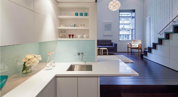 Дизайн квартиры студии в стиле минимализм - фото