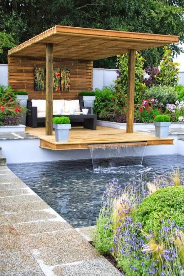 Красивый дизайн двора, фото 12